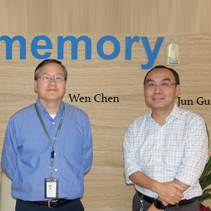 Wen Chen, CTO and Jun Gu, President, AP Memory Technology Corp